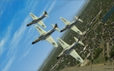 Acrojets... first official demonstration team of USAF!