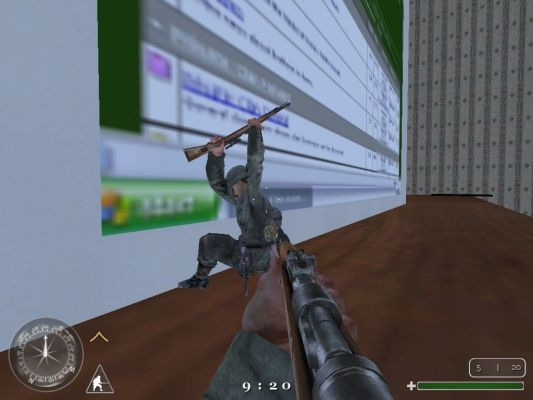 Click to view full size image  ==============  Windows taking a thrashing!  I knew warhawk got mad at his computer from time to time, but jeez man!